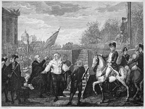 Louis Xvi (1754-1793). /Nking Of France, 1774-1792. The Execution Of Louis Xvi At The Place De La Concorde, Paris, 21 January 1793. Etching And Engraving, Dutch, C1800. Poster Print by Granger Collection - Item # VARGRC0003751