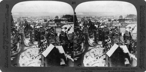 Chateau-Thierry, C1918. /Nview Of The Destruction At Chateau-Theirry, France, Where French And American Troops Defeated German Forces On 18 July 1918. Stereograph, C1918. Poster Print by Granger Collection - Item # VARGRC0325724