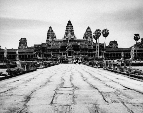 Cambodia: Angkor Wat. /Nview Of The Temple Ruins At Angkor Wat, Cambodia. Photographed In 1960. Poster Print by Granger Collection - Item # VARGRC0004970