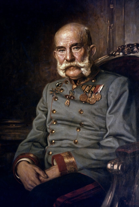 Francis Joseph I (1830-1916). /Nemperor Of Austria, 1848-1916. Oil On Canvas, 1915, By Heinrich Wassmuth. Poster Print by Granger Collection - Item # VARGRC0022343