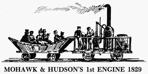 Mohawk And Hudson, 1829. /Nthe First Engine Of The Mohawk And Hudson Company, Built By Peter Cooper'S Canton Iron Works, 1829. Poster Print by Granger Collection - Item # VARGRC0098723