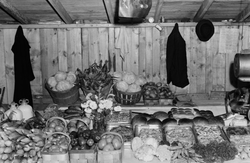 Farmers' Market, 1940. /Nthe Booth Of Mr. Kness At The Tri-County Farmers' Market In Du Bois, Pennsylvania. Photograph By Jack Delano, September 1940. Poster Print by Granger Collection - Item # VARGRC0419882