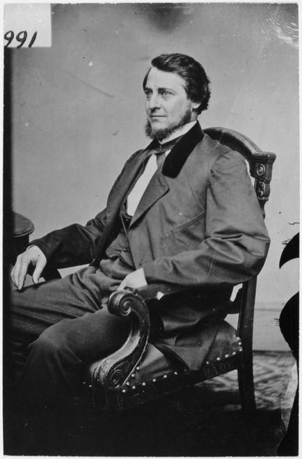 Clement Vallandigham /N(1820-1871). American Politician. Original Carte-De-Vosite Photograph, C1861 By Mathew Brady. Poster Print by Granger Collection - Item # VARGRC0054497