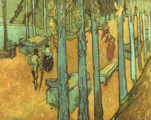 Van Gogh: Alyscamps, 1888. /Ncanvas, End Of October, 1888, By Vincent Van Gogh. Poster Print by Granger Collection - Item # VARGRC0042581