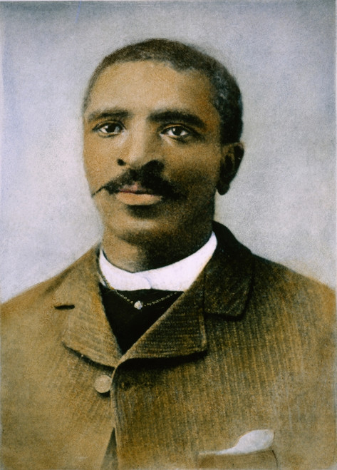 George Washington Carver /N(1864-1943). American Botanist, Chemist, And Educator. Oil Over A Photograph, 1896. Poster Print by Granger Collection - Item # VARGRC0061934
