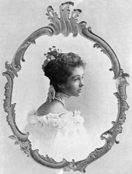 Consuelo Vanderbilt /N(1877-1964). 9Th Duchess Of Marlborough. Photographed At The Time Of Her Marriage, 1895, In New York, To The Duke Of Marlborough. Poster Print by Granger Collection - Item # VARGRC0057255