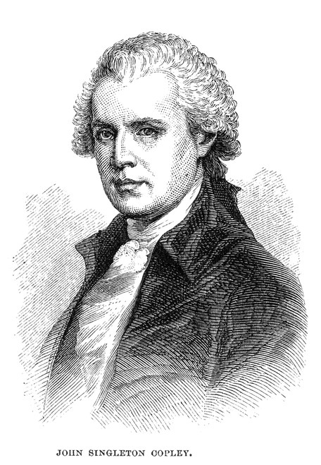John Singleton Copley /N(1738-1815). American Painter. Engraving, 19Th Century. Poster Print by Granger Collection - Item # VARGRC0065715