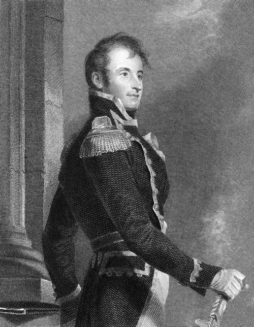 Stephen Decatur (1779-1820). /Namerican Naval Commander. Steel Engraving, 1836, By Asher B. Durand After A Painting By Thomas Sully. Poster Print by Granger Collection - Item # VARGRC0070135