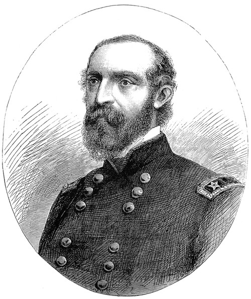 George Gordon Meade /N(1815-1872). American Army Commander. Wood Engraving, 1863. Poster Print by Granger Collection - Item # VARGRC0000872