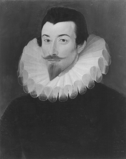 John Harington (1561-1612). /Nenglish Writer And Inventor Of The First Water-Closet. Oil On Panel, C1590-95, Attributed To Hieronimo Custodis. Poster Print by Granger Collection - Item # VARGRC0065153