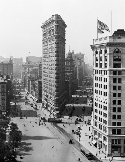 New York City, C1908. /Nthe Flatiron Building In New York City. Photograph, C1908. Poster Print by Granger Collection - Item # VARGRC0369966