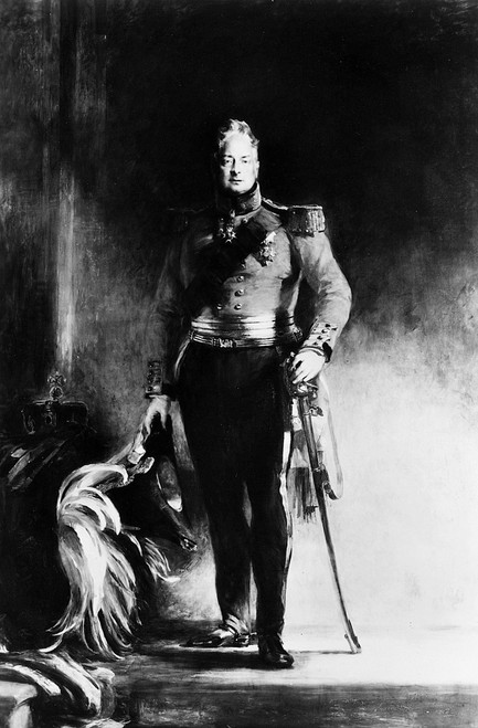 William Iv (1765-1837). /Nking Of Great Britain And Ireland, 1830-1837. Oil On Canvas, 1833, By Sir David Wilkie. Poster Print by Granger Collection - Item # VARGRC0072270