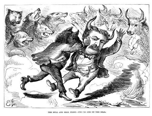 Cartoon: James Fisk, 1869./Namerican Newspaper Cartoon Of 1869 Published After James Fisk'S Failure To Corner The Gold Market On Black Friday, 24 September 1869. Cartoon, 1869. Poster Print by Granger Collection - Item # VARGRC0011979
