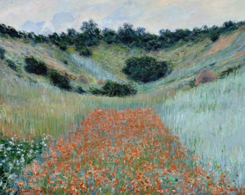 Monet: Poppy Field, 1885. /N'Poppy Field In A Hollow Near Giverny.' Oil On Canvas, Claude Monet, 1885. Poster Print by Granger Collection - Item # VARGRC0433695