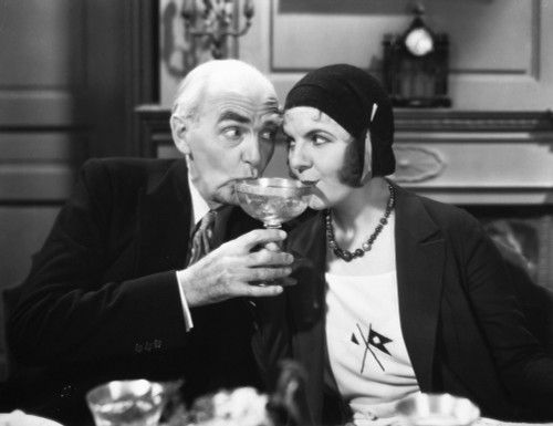 Gold Dust Gertie, 1931. /Nclaude Gillingwater And Winnie Lightner In A Scene From The Film. Poster Print by Granger Collection - Item # VARGRC0034419