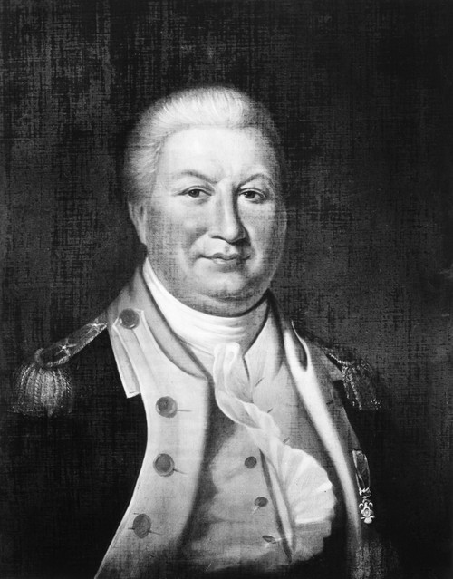 William Smallwood /N(1732-1792). American Planter, Soldier And Statesman. Oil On Canvas By James Harley After Charles Willson Peale, 18Th Century. Poster Print by Granger Collection - Item # VARGRC0112994