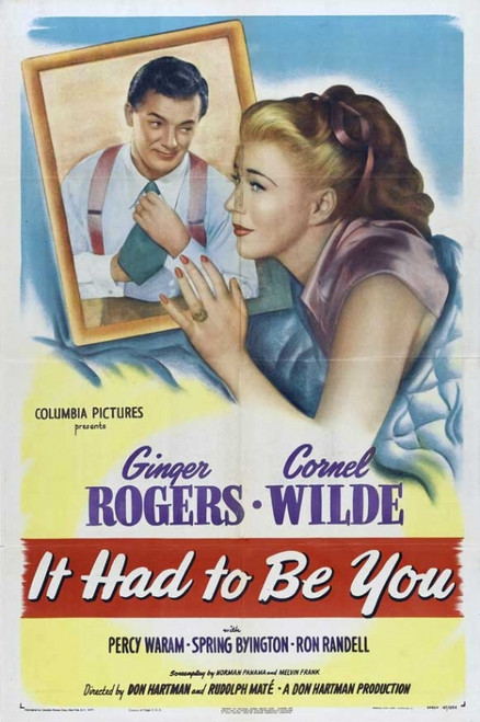 It Had to be You Movie Poster Print (27 x 40) - Item # MOVCB46350