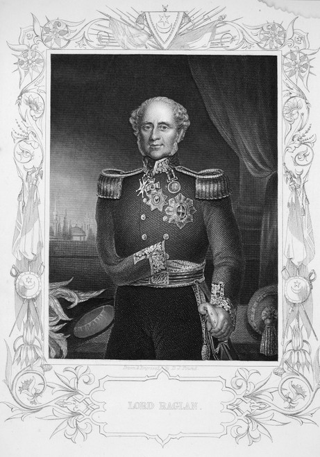 1St Baron Of Raglan /N(1788-1855). Fitzroy James Henry Somerset. English Field Marshall. Line And Stipple Engraving, English, 19Th Century. Poster Print by Granger Collection - Item # VARGRC0070752