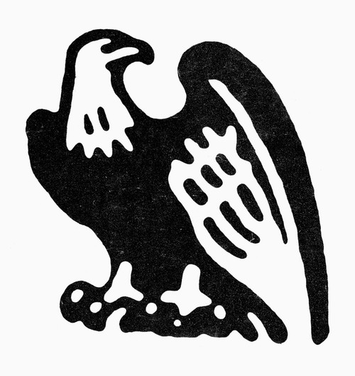 American Eagle, 1854. /Neagle Symbol Used By The Republican National Committee, 1850S. Poster Print by Granger Collection - Item # VARGRC0097960