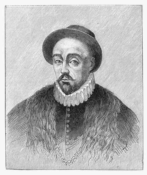 Michel Eyquem De Montaigne /N(1533-1592). French Essayist And Courtier. Line Engraving. Poster Print by Granger Collection - Item # VARGRC0032275