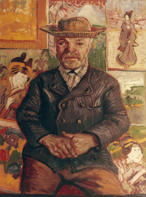 Van Gogh: Pere Tanguy, 1887. /Noil On Canvas By Vincent Van Gogh. Poster Print by Granger Collection - Item # VARGRC0025384