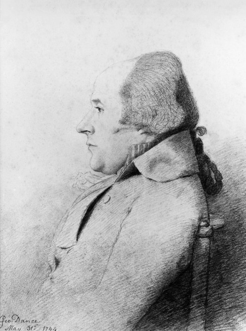 William Bligh (1754-1817). /Nenglish Naval Officer. Pencil Drawing, 1794, By George Dance. Poster Print by Granger Collection - Item # VARGRC0015810