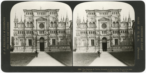 Italy: Certosa Di Pavia. /Nthe Certosa Di Pavia Monastery And Complex In Lombardy, Italy. Stereograph, 1902. Poster Print by Granger Collection - Item # VARGRC0326660