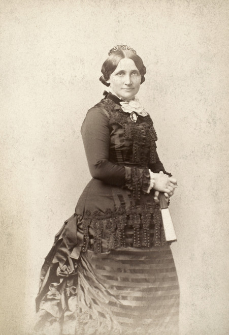 Lucy Hayes (1831-1889). /Nwife Of Rutherford B. Hayes. Poster Print by Granger Collection - Item # VARGRC0089944