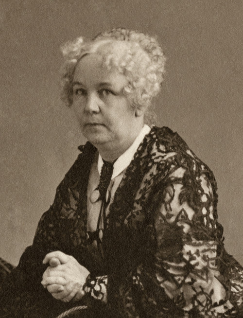 Elizabeth Cady Stanton /N(1815-1902). American Women'S Suffrage Advocate. Photograph By Napoleon Sarony, C1870. Poster Print by Granger Collection - Item # VARGRC0006359