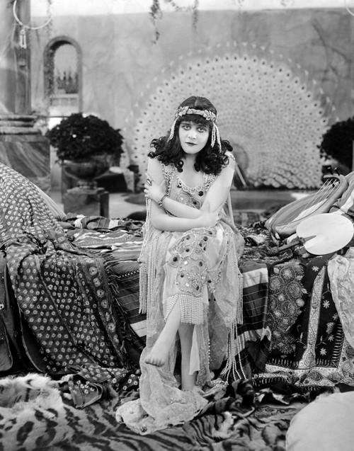 Theda Bara (1885-1955). /Nn_E Theodosia Goodman. American Actress. Bara In The Title Role Of 'Salome,' 1918. Poster Print by Granger Collection - Item # VARGRC0058189