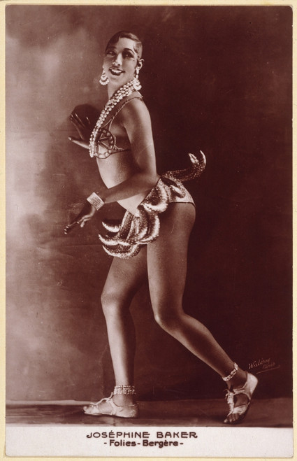 Josephine Baker (1906-1975). /Namerican Entertainer. Photographed C1929 In Paris. Poster Print by Granger Collection - Item # VARGRC0040615