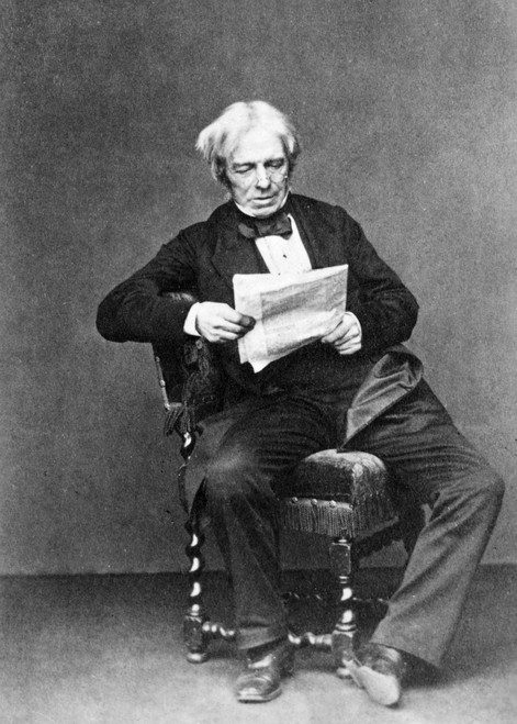 Michael Faraday /N(1791-1867). English Chemist And Physicist. Poster Print by Granger Collection - Item # VARGRC0044571