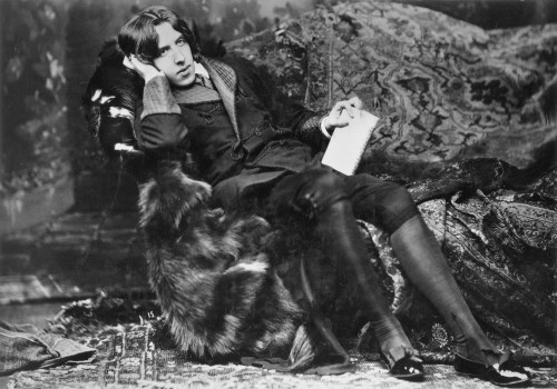 Oscar Wilde (1854-1900). /Nirish Writer And Wit. Photographed In 1882 By Napoleon Sarony At The Beginning Of Wilde'S American Tour. Poster Print by Granger Collection - Item # VARGRC0004626