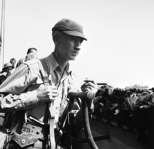 Ernie Pyle (1900-1945). /Namerican Journalist. Photograph, C1942. Poster Print by Granger Collection - Item # VARGRC0176725