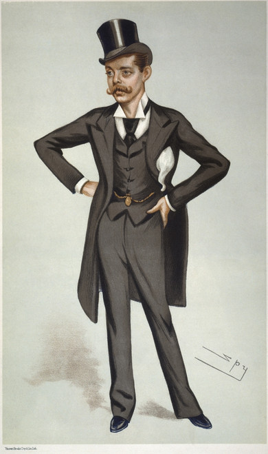Randolph Henry Churchill /N(1849-1895). Lord Randolph. English Politician. Lithograph By 'Spy' (Sir Leslie Ward), 1880. Poster Print by Granger Collection - Item # VARGRC0395090