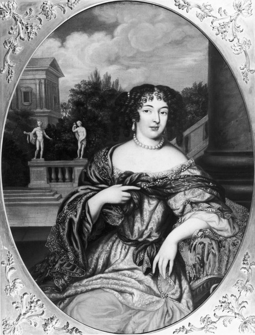 Marquise De Montespan /N(1641-1707). N_E Fran�Oise-Ath_Na_S De Rochechouart-Mortemart. French Courtier, Mistress Of Louis Xiv. Painting Attributed To Pierre Mignard, C1667. Poster Print by Granger Collection - Item # VARGRC0127176
