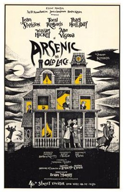 Arsenic and Old Lace (Broadway) Movie Poster (11 x 17) - Item # MOV256615