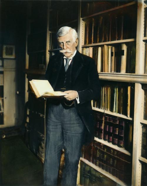 Oliver Wendell Holmes, Jr. /N(1841-1935). American Jurist. Oil Over A Photograph, 1924. Poster Print by Granger Collection - Item # VARGRC0064381
