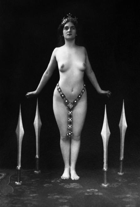 Sword Dance, C1920. /Nolga Desmond (1891-1964) Performing The Sword Dance. Photographed C1920. Poster Print by Granger Collection - Item # VARGRC0097286