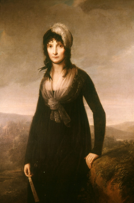 Letizia Bonaparte (1750-1836). /Nmother Of Napoleon Bonaparte. Oil, 1800, By Jean-Baptiste Greuze. Poster Print by Granger Collection - Item # VARGRC0050312