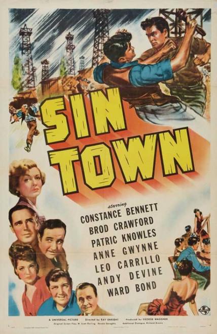 Sin Town Movie Poster Print (27 x 40) - Item # MOVIB40604