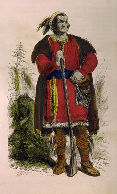 Tecumseh, Shawnee Indian Leader Poster Print by Science Source - Item # VARSCIJA8622