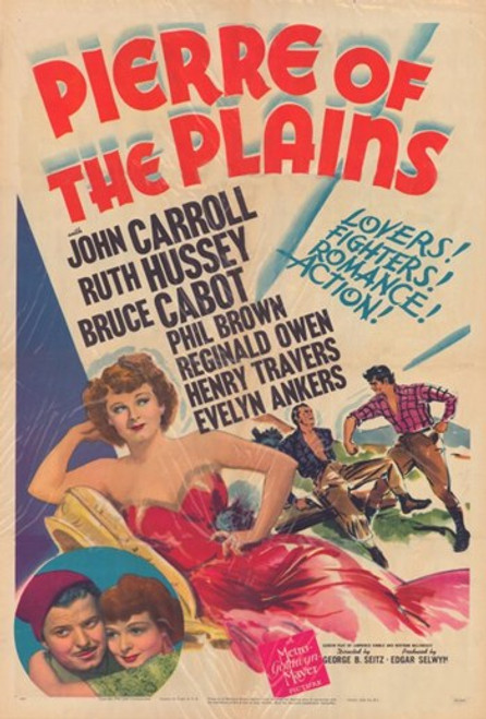 Pierre of the Plains Movie Poster (11 x 17) - Item # MOV350972