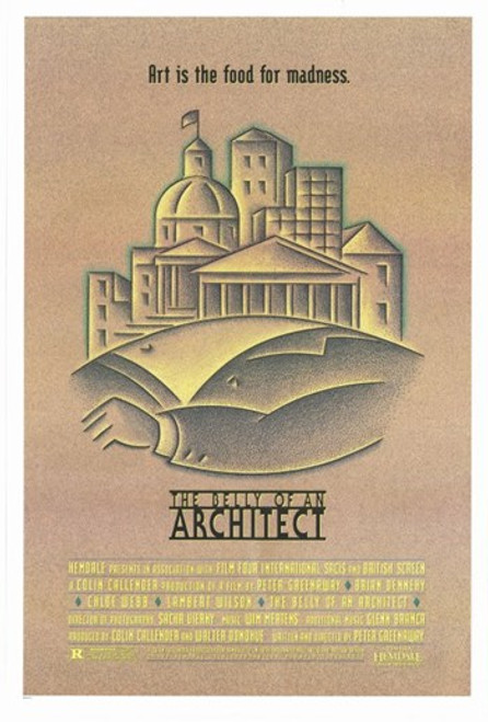 The Belly of an Architect Movie Poster (11 x 17) - Item # MOV252017