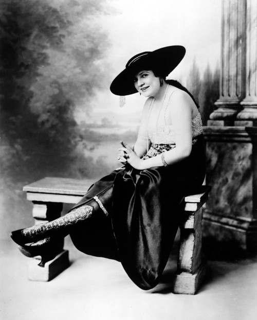 Silk Stockings, C1920. /Namerican Woman Wearing Silk Stockings With High Lace Inserts And Below-The-Knee Decorations, C1920. Poster Print by Granger Collection - Item # VARGRC0093330