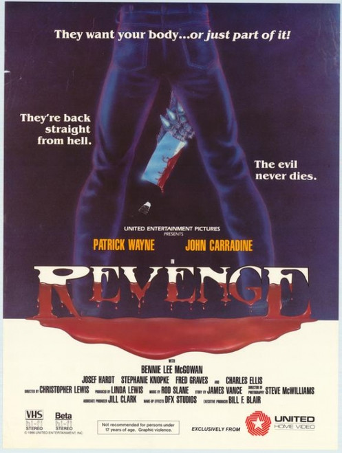 Revenge Movie Poster Print (27 x 40) - Item # MOVEG3995