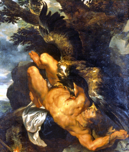 Rubens: Prometheus Bound. /N'Prometheus Bound.' Oil On Canvas By Peter Paul Rubens, 1611-1612. Poster Print by Granger Collection - Item # VARGRC0023458
