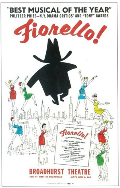 Fiorello (Broadway) Movie Poster (11 x 17) - Item # MOV407176