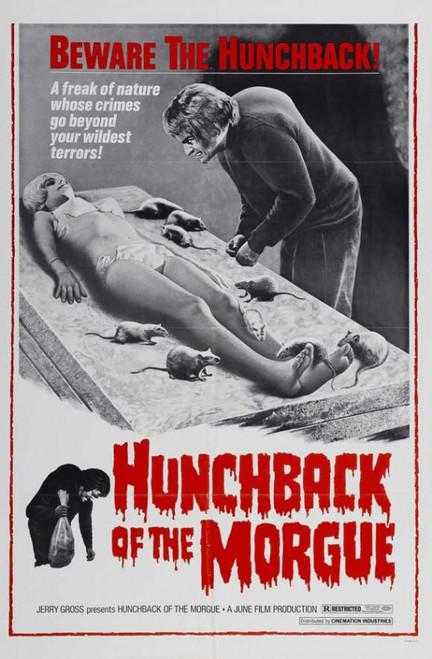Hunchback of the Morgue Movie Poster Print (27 x 40) - Item # MOVCJ0297