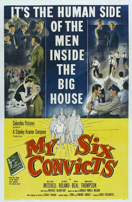My Six Convicts Movie Poster (11 x 17) - Item # MOV416946